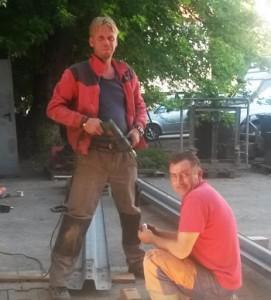 Rafal Jedrzejak und Rafal Tomczak