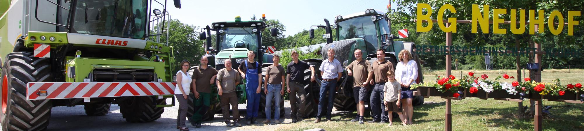 Bertriebsgemeinschaft Neuhof Team